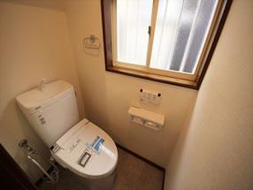 トイレのリフォームAfter画像