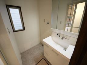 洗面のリフォームAfter画像