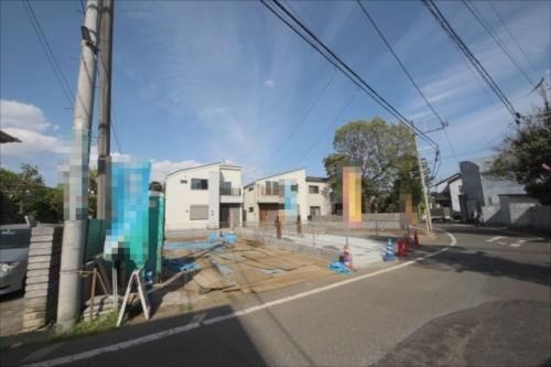 新築一戸建て住宅・建築条件無し売地 全4棟