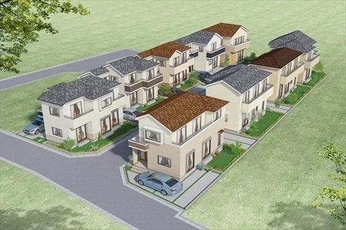 新築一戸建て住宅 建築条件付売地 全18棟
