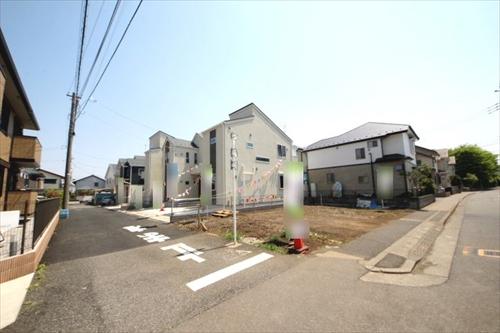 新築一戸建て住宅 建築条件なし売地 全5棟