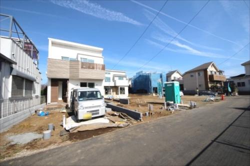 新築一戸建て住宅 建築条件無し売地 全7棟