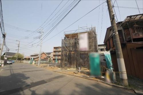 新築一戸建て住宅 建築条件無し売地 全4棟