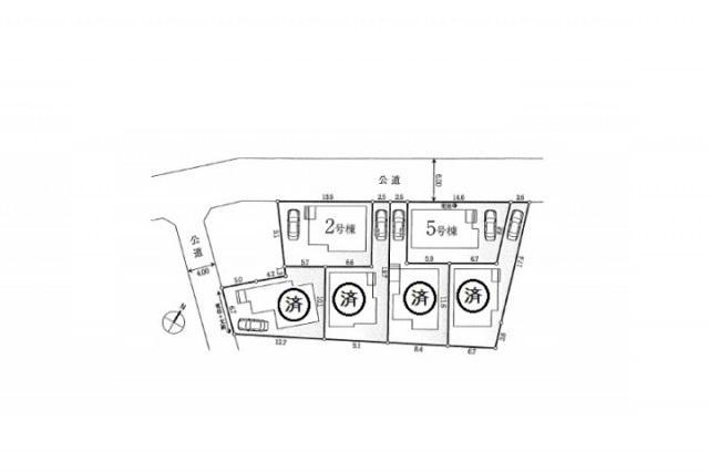 新築一戸建て 全6棟 西東京市栄町の区画・間取り画像09