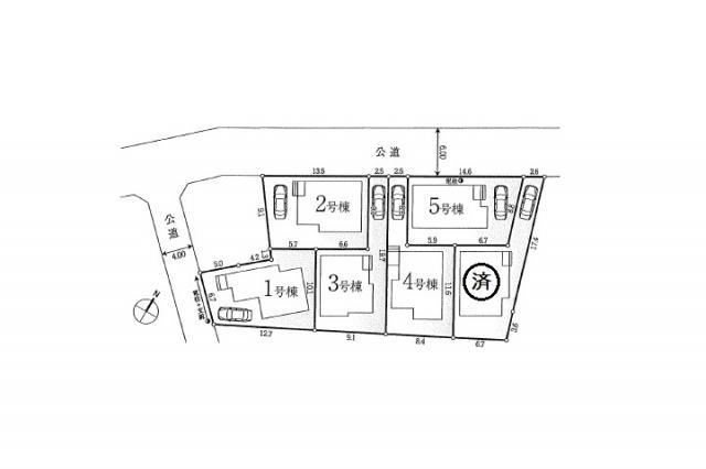 新築分譲住宅 全6棟 西東京市栄町の区画・間取り画像13